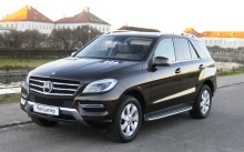ТЕСТ-ДРАЙВ Mercedes-Benz ML 350 Bluetec